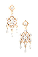 8 Other Reasons Regal Duster Earrings in Gold
