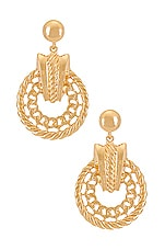 8 Other Reasons Look But Don't Touch Earring in Gold