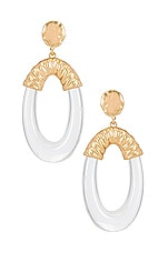 8 Other Reasons Moody Earrings in Gold