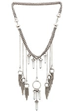 8 Other Reasons Dream Catcher Necklace in Burnished Silver