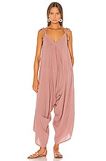 9 Seed Bali Jumpsuit in Berry
