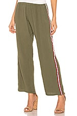 9 Seed Sorrento Beach Pant in Army Stripe