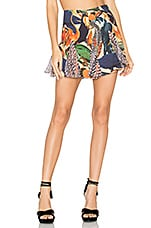 Multi Print Mini Skirt в цвете Passaros