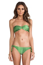 Double Bandeau Top in Foliage