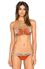 HAUT DE MAILLOT DE BAIN EMBROIDERED