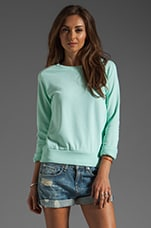 Johnny Sweatshirt in Aqua