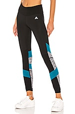 adidas by MISSONI How We Do Tight in Black, Active Teal & White