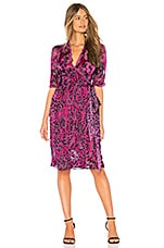 Amanda Bond Anya Dress in Hot Pink Leopard