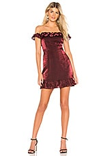 About Us Camila Mini Dress in Red