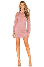 About Us Isabelle Dress in Mauve