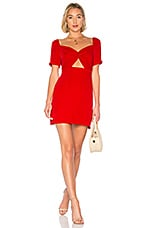 About Us Bella Knot Dress in Red