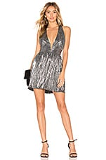 About Us Savannah Skater Dress in Silver