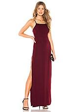 About Us Jordan Maxi Dress in Wine