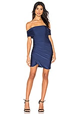 About Us Danya Off Shoulder Dress in Navy
