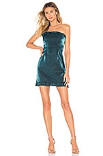 About Us Kimmie Mini Dress in Teal