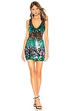 About Us Sofie Sequin Mini Dress in Multi