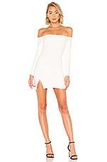 superdown Cindy Off Shoulder Dress in White