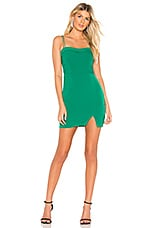 About Us Mina Dress in Kelly Green