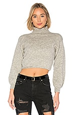 About Us Annie Sweater in Light Grey