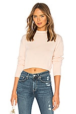 About Us Darla Cuffed Sweater in Light Peach