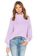 superdown Frankie Knit Sweater in Lavender