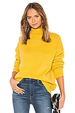 About Us Paris Knit Sweater in Yellow