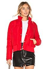 superdown Maribel Puffer Jacket in Red
