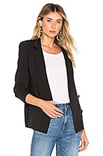 About Us Amber Blazer in Black