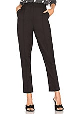 About Us Piper Cropped Pant in Black