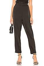 About Us Janie Satin Pants in Black