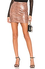 About Us Loraine Mini Skirt in Taupe