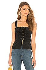 About Us Julie Top in Black