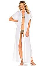 Acacia Swimwear Oahu Duster in White
