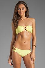 Lumahai Bandeau Top in Lemonade