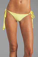 Rio Brazilian String Bikini in Lemonade