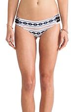 Pikake Bikini Bottom in Tapa