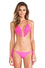 Montauk Bikini Top in Guava Pop