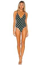 Acacia Swimwear Bahia One Piece in Dotty