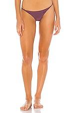 Acacia Swimwear Fins Bottom in Plum