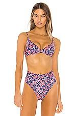 Acacia Swimwear Manhattan Top in Poppy