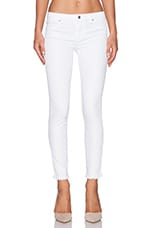 a.c.e Sonoma Frayed Skinny in White