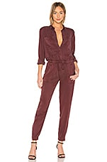 YFB CLOTHING Everest Jumpsuit in Jam