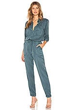 YFB CLOTHING Everest Jumpsuit in Sea Blue