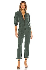 YFB CLOTHING Harmony Jumpsuit in Emerald