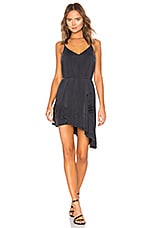YFB CLOTHING Orchard Dress in Black Sand