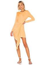 YFB CLOTHING Yumi Dress in Mango