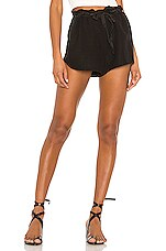 YFB CLOTHING Huron Short in Black