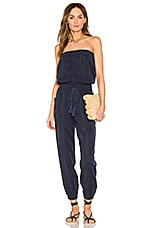 YFB CLOTHING Luke Jumpsuit in Navy