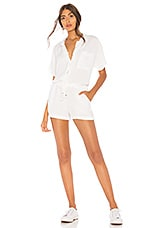 YFB CLOTHING Jacobson Romper in White