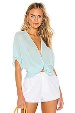 YFB CLOTHING Corrine Top in Crystal